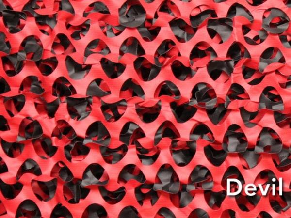 Filets de camouflage 40m x 2,40 m colorés