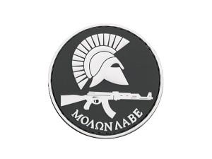 Patch PVC Molon Labe AK Noir