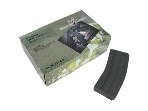 Pack de 10 chargeurs Noir 120 coups pour M16 séries - King Arms