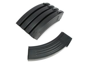 Pack de 5 chargeurs Noir 100 coups M4 design AK - King Arms