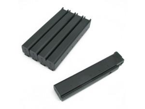 Pack de 5 chargeurs Noir 110 coups pour m1a1 AEG - King Arms