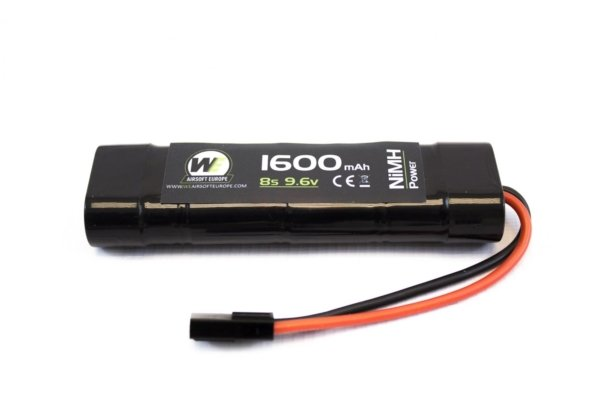 Batterie mini 9,6 v / 1600 mah NiMh 1 element np
