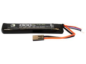 Batterie LiPo stick 7,4 v/1300 mAh