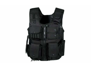 Gilet tactique Noir Swat law enforcement