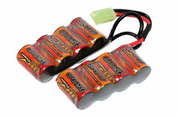 Batterie mini 9,6v / 1500mah pour GR4 G26 G&G