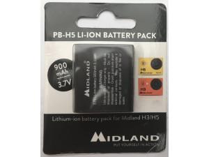 Batterie 900MaH pour caméra Midland H5