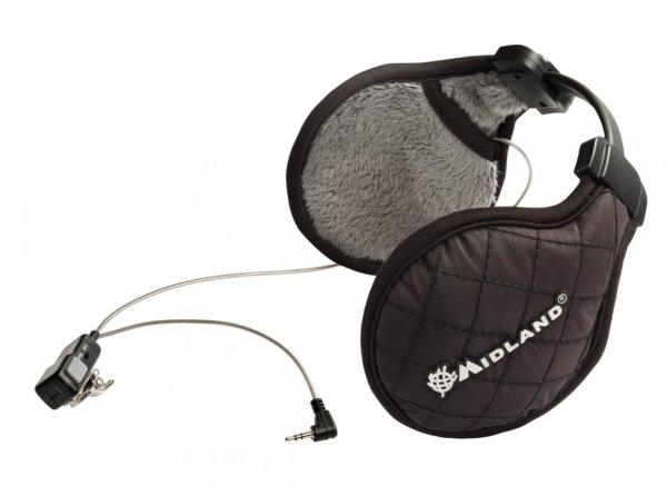 Casque Audio Noir Hiver Subzero Midland Comet Airsoft