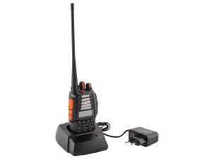 Talkie 4CF bibande VHF/UHF et radio FM - CRT France