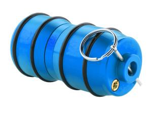 Réplique grenade impact à gaz gz bleu - sport attitude