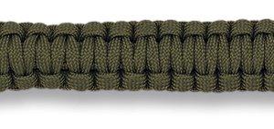 Bracelet de survie vert en paracorde
