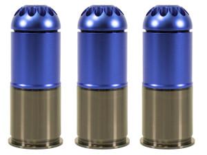 Pack de 3 grenades gaz 120 bbs m203 - NUPROL