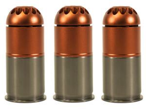 Pack de 3 grenades gaz 96 bbs m203 - NUPROL