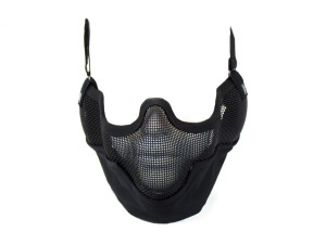 Bas de masque grillage shield v2 - Noir