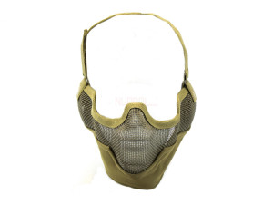 Bas de masque grillage shield v2 - tan