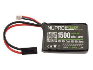 Batterie LiPo micro 7,4 v/1500 mAh