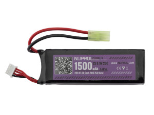 Batterie Li-Fe power 9,9 v 1500 mah 25 c slim stick