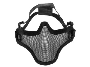 Bas de masque grillage v1 - Noir