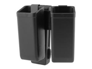 Porte chargeur pivotant double 2 chargeurs 9mm