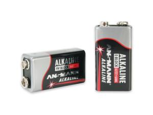 Pile alcaline 6LR61 9 volts - Ansmann