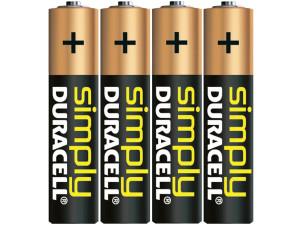 Piles alcalines AAA LR03 1,5 volt - Duracell