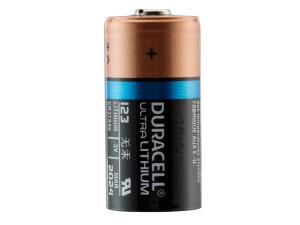 Pile Lithium CR123 3 volts - Duracell