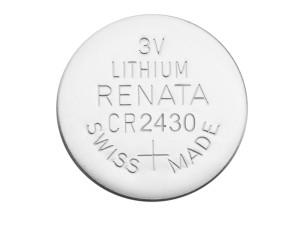 Pile Lithium CR2430 3 volts
