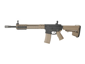 AEG Black Rain Ordnance Carbine tan mosfet 1,4j - KING ARMS