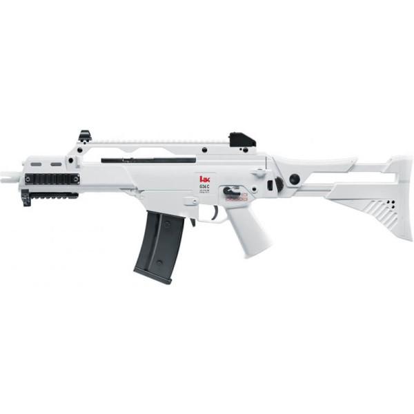 Réplique AEG G36C IDZ H&K white édition blowback 0,5j - Umarex