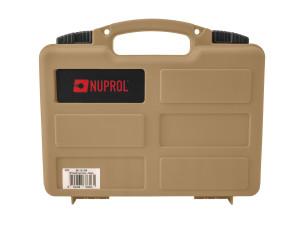 Mallette pour arme de poing tan - Nuprol