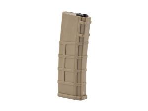 Chargeur mid-cap 200 billes tan pour M4 séries - BO manufacture