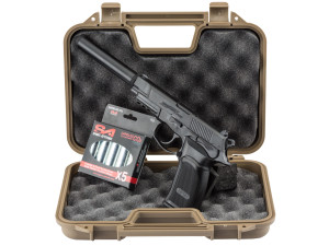 Pack Bersa Thunder 9 Co2 + mallette + 5 cartouches de CO2 + silencieux