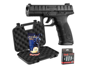 Pack Beretta APX Co2 + mallette + 5 capsules de CO2 + 3000 billes