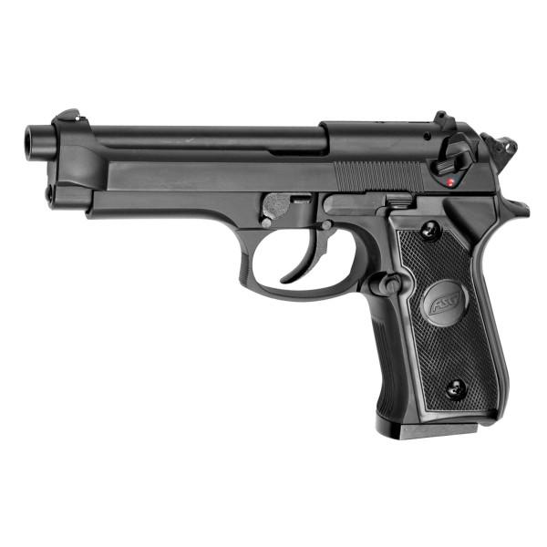 Réplique pistolet M92 gaz Noir GNB