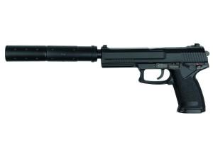 Réplique pistolet MK23 full set Noir gaz GNB