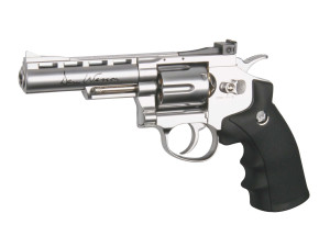 Réplique revolver Dan wesson silver 4'' Co2