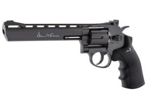 Réplique revolver Dan wesson 8pouces noir low power