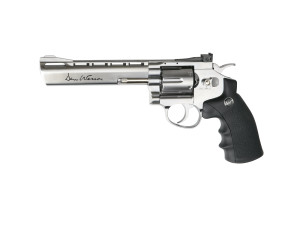 Réplique revolver Dan wesson 6 pouces Silver Low Power