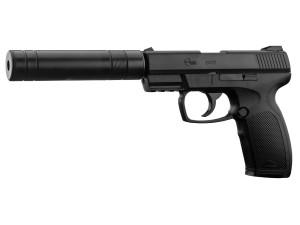 Réplique pistolet Cop Silencer Co2 GNB