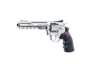 Réplique revolver Ruger 6 super Hawk silver
