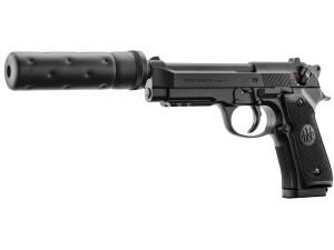 Réplique Beretta M92 A1 Tactical Noir électrique