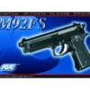 Réplique M92 fs Noir ressort hop-up fixe modèle lourd 0,5j - asg