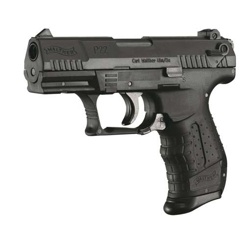 Réplique pistolet Walther P22 Noir ressort