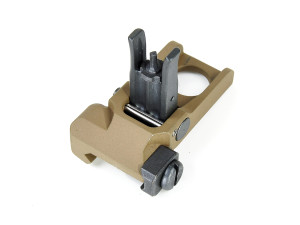 Flip up front sight type KAC PDW tan - VFC