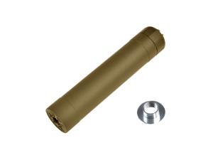 Silencieux Crusader TR45S Suppressor tan 14 et 16mm - VFC