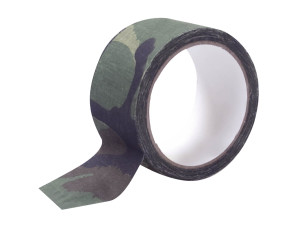 Ruban tissu camouflage adhésif